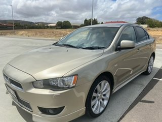2008 Mitsubishi Lancer CJ MY09 Aspire Gold 6 Speed Constant Variable Sedan.