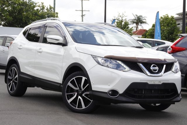 Used Nissan Qashqai J11 TL Mount Gravatt, 2015 Nissan Qashqai J11 TL White 1 Speed Constant Variable Wagon