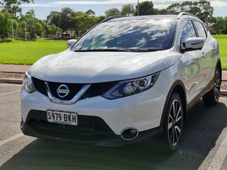 2015 Nissan Qashqai J11 TI White 1 Speed Constant Variable Wagon