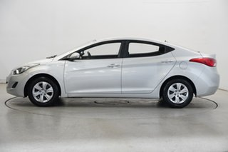 2012 Hyundai Elantra MD2 Active Sleek Silver 6 Speed Sports Automatic Sedan.
