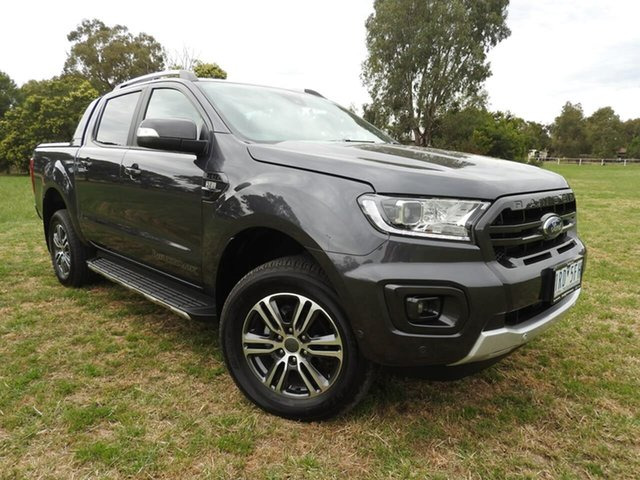 Used Ford Ranger Epsom, 2019 Ford Ranger wildtrak Grey 6 Speed Automatic Dual Cab