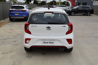 2018 Kia Picanto JA MY19 GT-Line White 4 Speed Automatic Hatchback