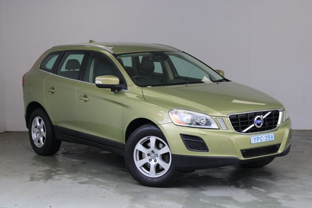 Used Volvo XC60 DZ MY10 LE Geartronic AWD Phillip, 2010 Volvo XC60 DZ MY10 LE Geartronic AWD Lime Grass Green 6 Speed Sports Automatic Wagon