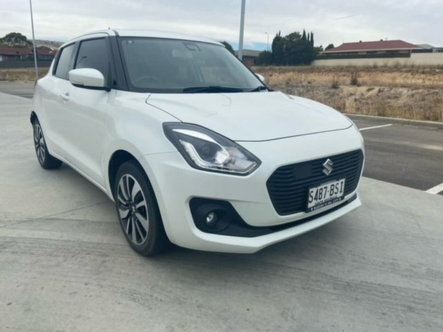 Used Suzuki Swift AZ GLX Turbo Victor Harbor, 2017 Suzuki Swift AZ GLX Turbo White 6 Speed Sports Automatic Hatchback