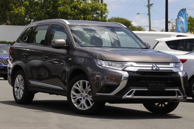 Used Mitsubishi Outlander ZL MY19 ES 2WD Mount Gravatt, 2019 Mitsubishi Outlander ZL MY19 ES 2WD Brown 6 Speed Constant Variable Wagon