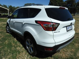 2019 Ford Escape Trend 2.0L D White Automatic SUV.