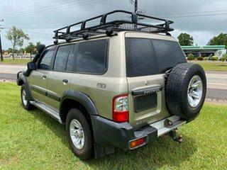 2002 Nissan Patrol GU III MY2002 ST Gold 5 Speed Manual Wagon