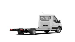 2020 Ford Transit VO MY20.50 430e (RWD) DRW Frozen White 10 Speed Automatic Cab Chassis.