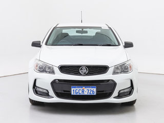 2016 Holden Commodore Vfii MY16 SV6 Black Edition White 6 Speed Automatic Sedan.