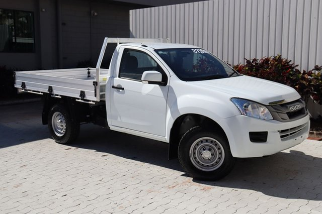 Used Isuzu D-MAX MY15 SX Cairns, 2015 Isuzu D-MAX MY15 SX White 5 Speed Sports Automatic Cab Chassis