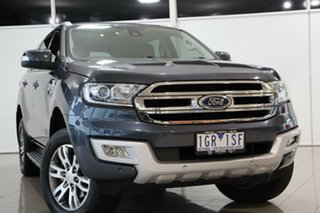 2015 Ford Everest UA Trend Silver 6 Speed Sports Automatic SUV.
