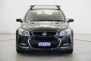 2015 Holden Commodore VF MY15 SV6 Sportwagon Black 6 Speed Sports Automatic Wagon.