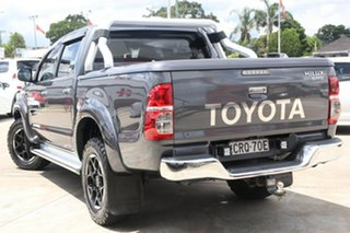 2013 Toyota Hilux KUN26R MY12 4x4 Charcoal Grey 4 Speed Automatic Dual Cab.