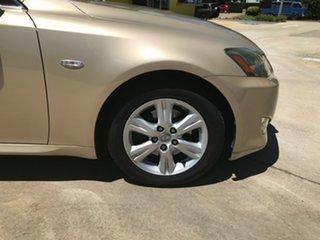 2008 Lexus IS GSE20R IS250 Prestige Beige 6 Speed Sports Automatic Sedan