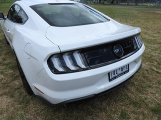 2019 Ford Mustang GT FASTBACK White Automatic Coupe