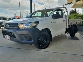 2018 Toyota Hilux White 5 Speed Manual Utility