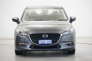 2018 Mazda 3 BN5236 SP25 SKYACTIV-MT Grey 6 Speed Manual Sedan.