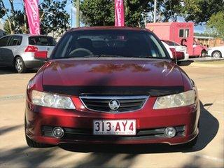 2004 Holden Berlina VY II Red 4 Speed Automatic Sedan