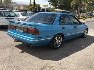 1993 Ford Fairmont EB II Ghia Blue 4 Speed Automatic Sedan.