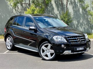 2009 Mercedes-Benz M-Class W164 MY10 ML350 CDI BlueEFFICIENCY AMG Sports Black 7 Speed.