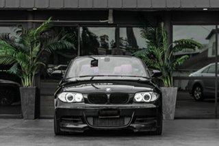 2008 BMW 1 Series E88 135i Steptronic Black 6 Speed Sports Automatic Convertible.