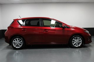 2014 Toyota Corolla ZRE182R Ascent Sport S-CVT Maroon 7 Speed Constant Variable Hatchback