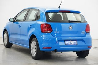 2017 Volkswagen Polo 6R MY17 66TSI DSG Trendline Cornflower Blue 7 Speed