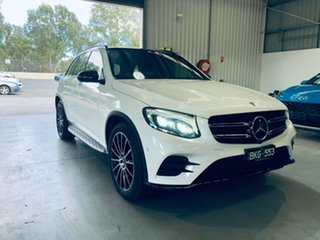 2019 Mercedes-Benz GLC-Class X253 809MY GLC250 d 9G-Tronic 4MATIC White 9 Speed Sports Automatic.