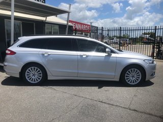 2016 Ford Mondeo MD Trend TDCi Silver 6 Speed Automatic Wagon.