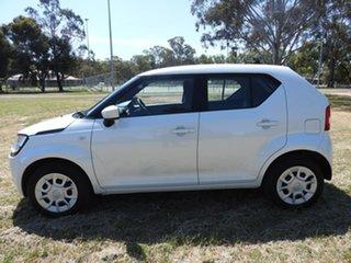 2018 Suzuki Ignis MF GL White 1 Speed Constant Variable Hatchback