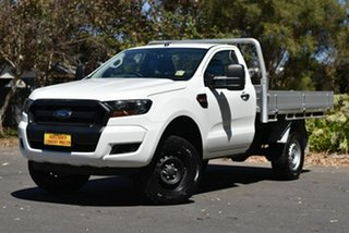 2018 Ford Ranger PX MkII 2018.00MY XL Hi-Rider White 6 Speed Sports Automatic Cab Chassis.