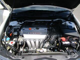 2005 Honda Accord MY05 Upgrade Euro Pearl White 5 Speed Sequential Auto Sedan