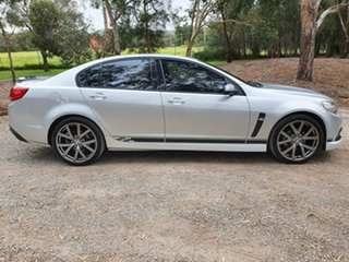 2015 Holden Commodore VF SV6 Lightning Silver Sports Automatic Sedan.
