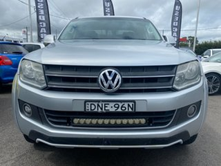 2012 Volkswagen Amarok 2H MY12.5 TDI400 4Motion Perm Ultimate Silver 6 Speed Manual Utility.