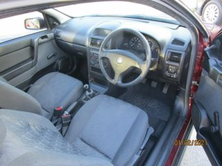 2002 Holden Astra TS City Red 5 Speed Manual Hatchback