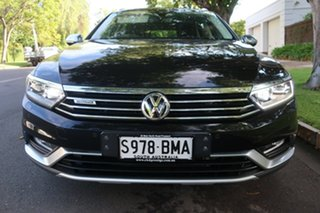 2016 Volkswagen Passat 3C (B8) MY16 140TDI DSG 4MOTION Alltrack Black 6 Speed.