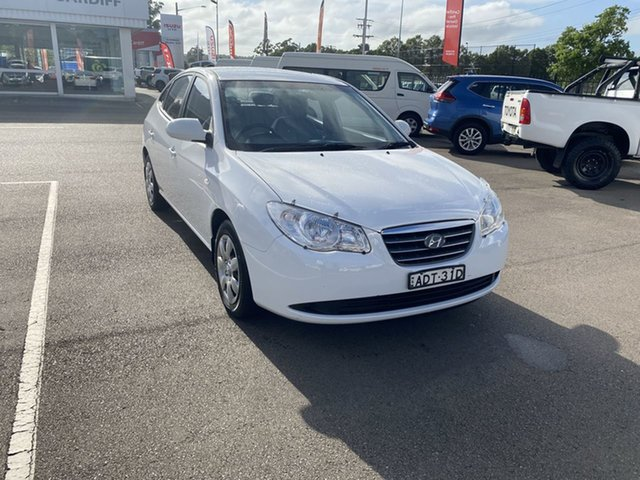 Used Hyundai Elantra HD SX Cardiff, 2008 Hyundai Elantra HD SX White 5 Speed Manual Sedan