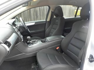 2010 Ford Falcon FG XR6 Silver 6 Speed Auto Seq Sportshift Sedan