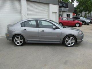 2005 Mazda 3 BK1031 SP23 Silver 4 Speed Sports Automatic Sedan.