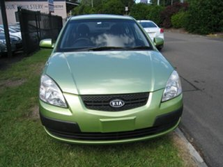 2008 Kia Rio JB LX Green 5 Speed Manual Hatchback.
