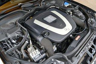 2007 Mercedes-Benz E-Class W211 MY07 E350 Avantgarde Black 7 Speed Automatic Sedan