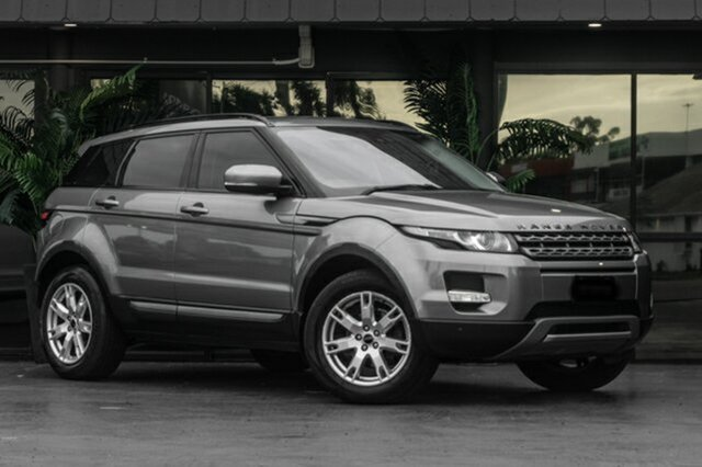 Used Land Rover Range Rover Evoque L538 MY12 TD4 CommandShift Pure Bowen Hills, 2011 Land Rover Range Rover Evoque L538 MY12 TD4 CommandShift Pure Grey 6 Speed Sports Automatic