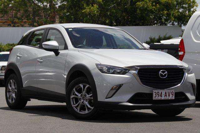 Used Mazda CX-3 DK2WSA Maxx SKYACTIV-Drive Mount Gravatt, 2015 Mazda CX-3 DK2WSA Maxx SKYACTIV-Drive White 6 Speed Sports Automatic Wagon