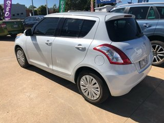 2015 Suzuki Swift GL White 4 Speed Automatic Hatchback
