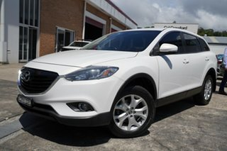 2013 Mazda CX-9 TB10A5 Classic Activematic White 6 Speed Sports Automatic Wagon.