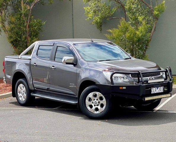 Used Holden Colorado RG MY13 LTZ Crew Cab 4x2 Templestowe, 2012 Holden Colorado RG MY13 LTZ Crew Cab 4x2 Grey 6 Speed Sports Automatic Utility