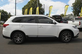 2015 Mitsubishi Outlander ZJ MY14.5 LS 4WD White 6 Speed Sports Automatic Wagon.