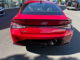 2020 Hyundai i30 CN7.V1 MY21 N Line D-CT Fiery Red 7 Speed Sports Automatic Dual Clutch Sedan