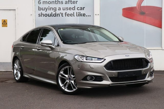 Pre-Owned Ford Mondeo MD 2018.25MY Titanium Ferntree Gully, 2018 Ford Mondeo MD 2018.25MY Titanium Metalicious Grey 6 Speed Sports Automatic Hatchback