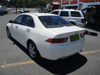 2005 Honda Accord MY05 Upgrade Euro Pearl White 5 Speed Sequential Auto Sedan.